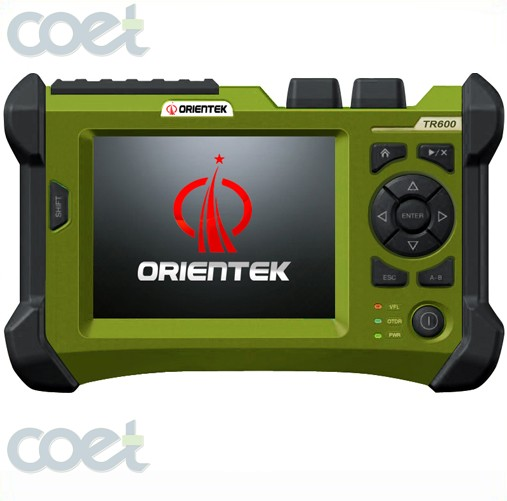 Handheld OTDR TR600 SM OTDR 1310/1550nm 32/30dB Integrated VFL Touch Screen 120KM Optical Time Domain Reflectometer