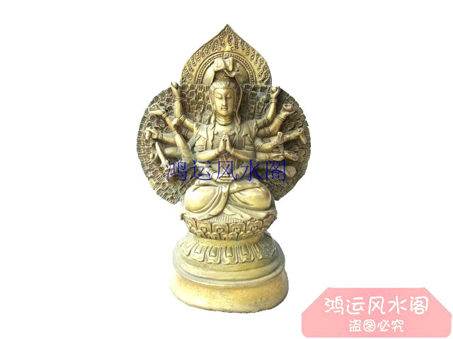 Precision Bronze Statue Copper Buddha Decoration Home Accessories Technology Gift