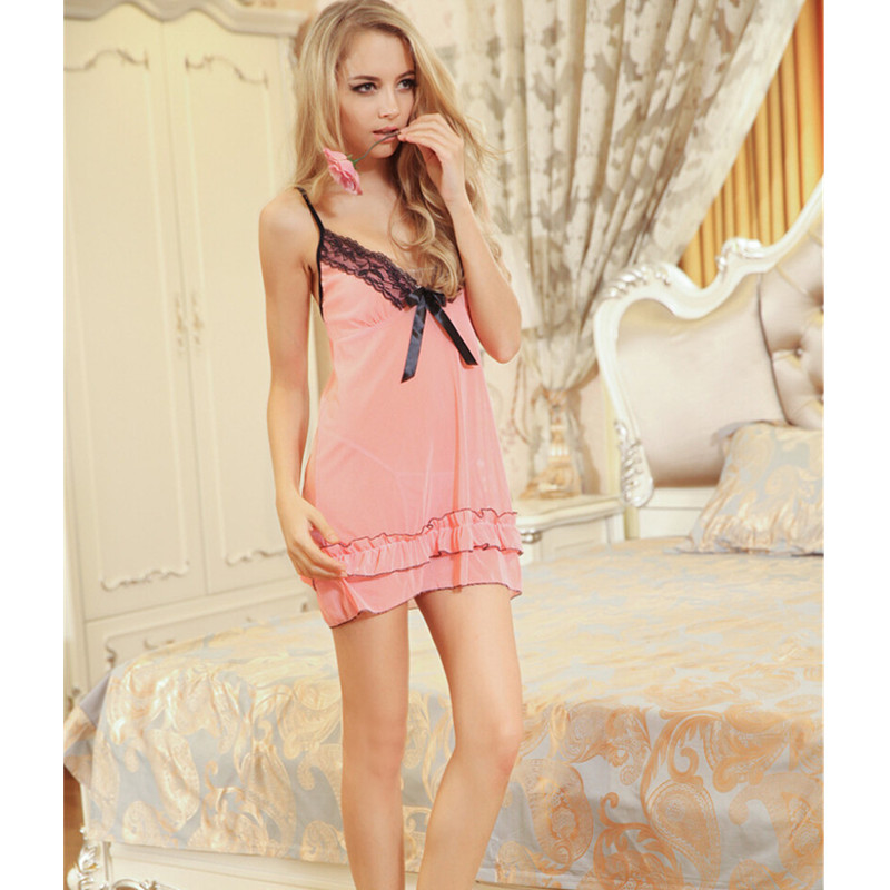 New Sexy nightdress plus size lingerie Bathrobe Faux Silk Robe Women Nightgown Dressing sexy night shirts pajamas sexy costumes