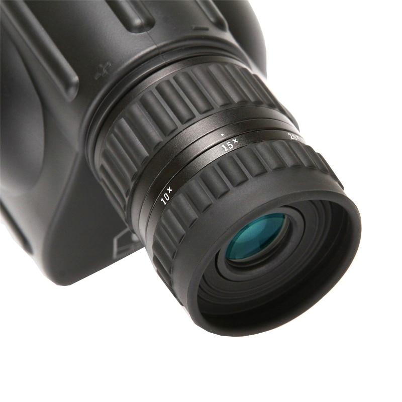 New Arrival 10-30X50 HD zoom waterproof telescope FMC Monocular Telescope brid Watch binoculars for hunting free shipping