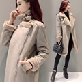 2017 Winter Coat Women Long Sheepskin Suede Cloak Winter Jacket Women Lapel Thick Warm Women's Coats Overcoat Jaqueta