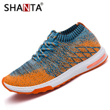 2019 Men Shoes Beathable Air Mesh Men Casual Shoes Slip on Summer Sock Shoes Men Sneakers Tenis Masculino Adulto Plus Size 46