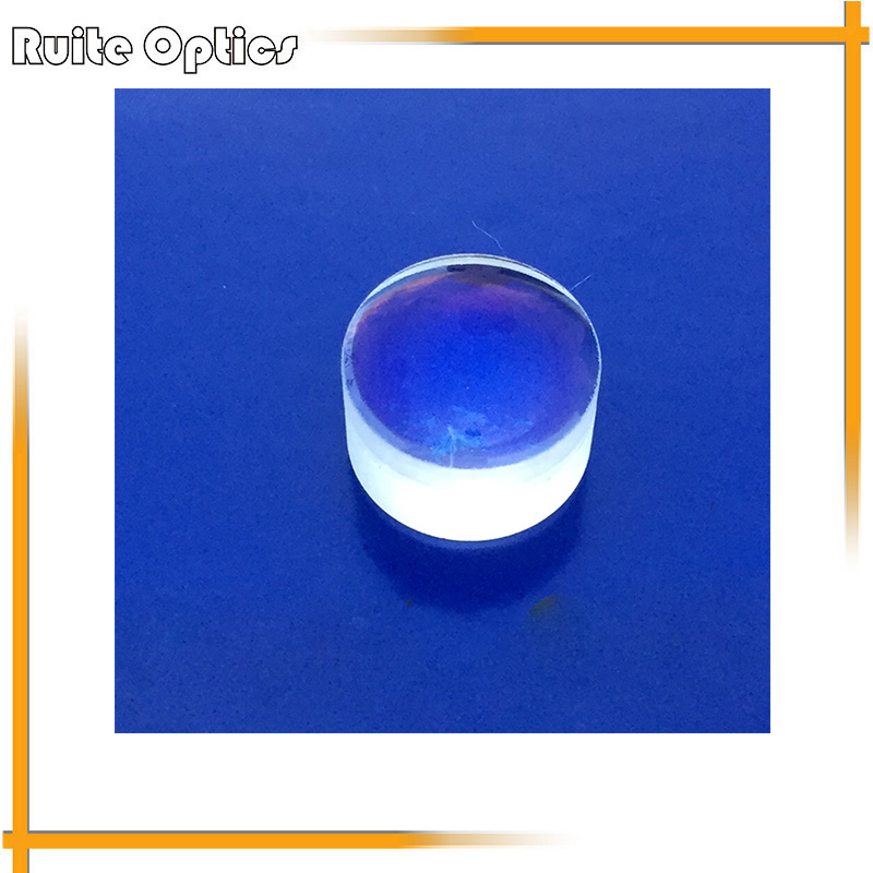 ФОТО 9mm Diameter Focal Length 12mm Double Convex Achromatic Doublet Lens Optics Glass Lenses Optical Element