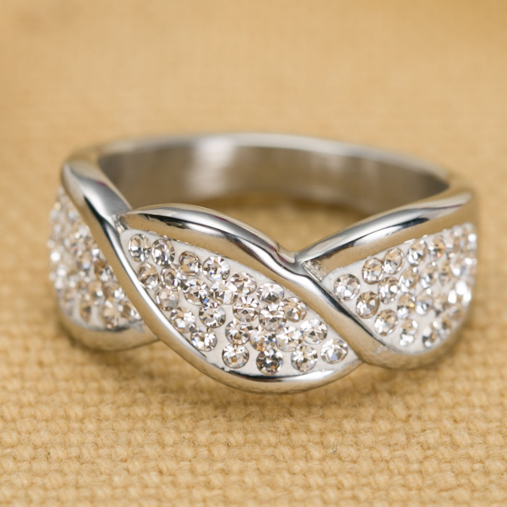 engagement silver womens top women white over the plated leaf within wedding s rings design gold unique
