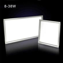 цена на Oblong Ceiling Lights AC 100-220V ultra thin flat led panel light 600*600 300*300 300*600 300*1200 12W 24W 38W office down light