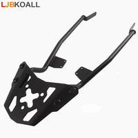 LJBKOALL MT 07 FZ 07 Motorcycle Black Rear Luggage Rack Carrier with Bolts for Yamaha MT 07 FZ07 MT07 FZ 07 2014 2015 2016 2017