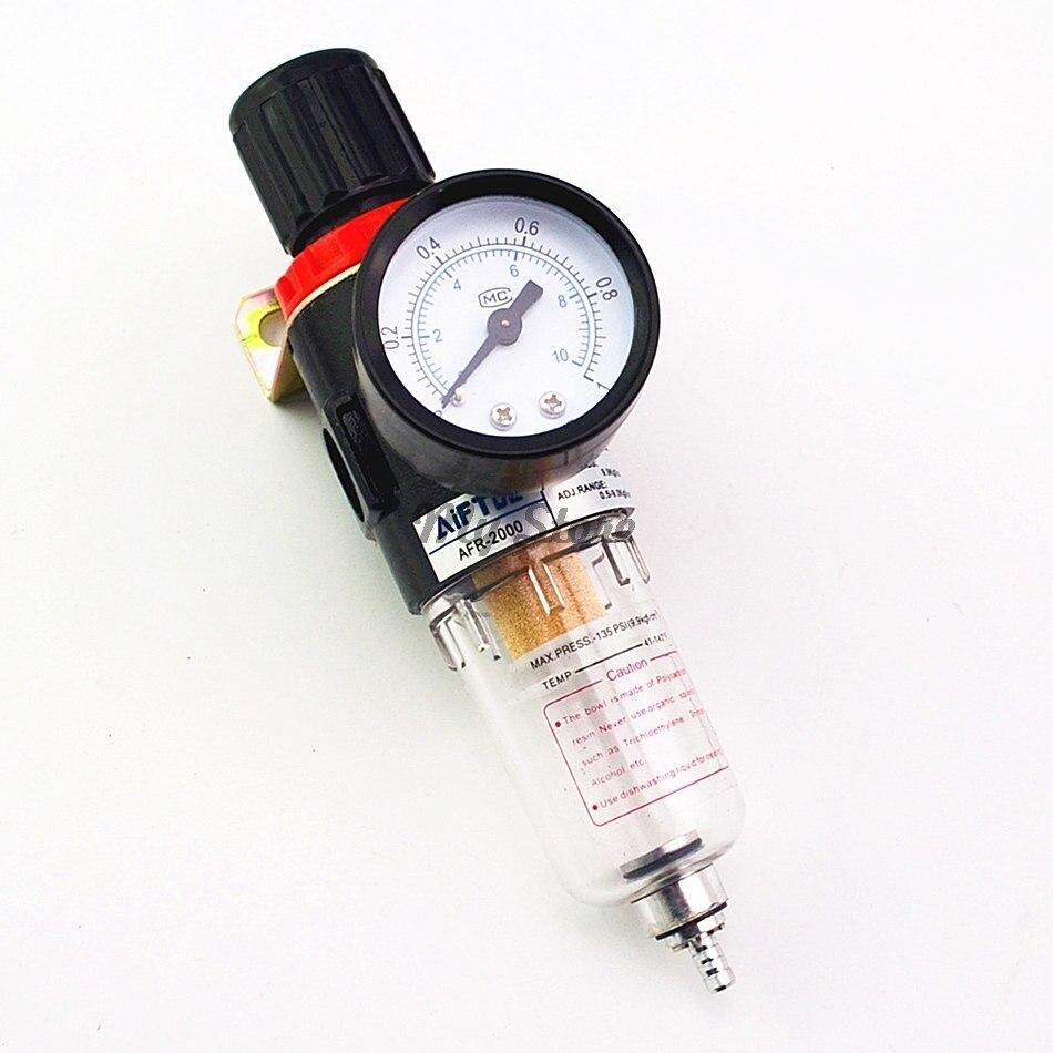 AFR-2000 Pneumatische Filter Regler Air Behandlung Einheit Manometer AFR2000 Druck Schalter