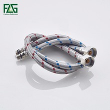 Plumbing Hoses 304 Stainless Steel Knitted Wire Basin Toilet Triangle Valve Hose Bathroom Replacement Parts