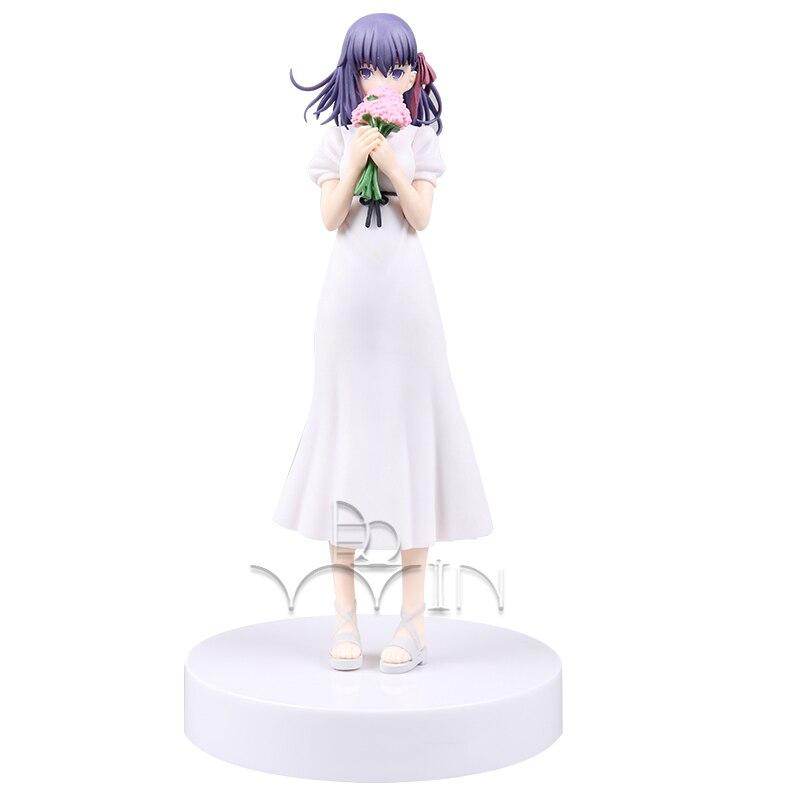 Fate Stay Night  Wedding Dress Matou Sakura Action Figure Figurine T30