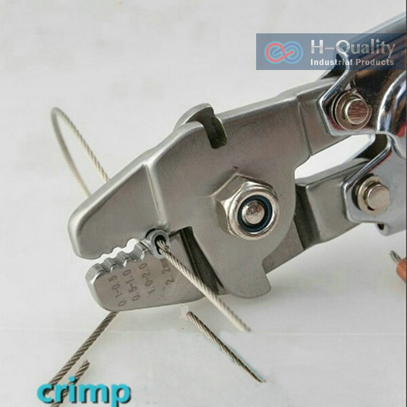 Ferrule Sleeves Crimping Tool Clamp Tool Steel Wire Rope