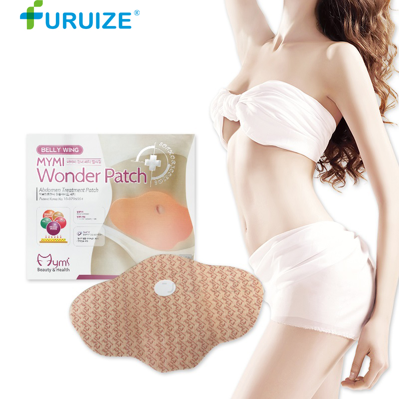 MYMI WONDER PATCH Slimming patch Weight Loss patch Belly Wing Abdomen Treatment Navel Fat Burn wonder Slim patch