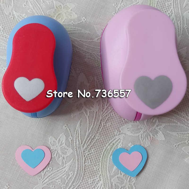 2 pièces (2.5 cm, 1.6 cm) coeur forme artisanat poinçon Poinçon Artisanat Scrapbooking école Papier Perforateur eva perforatrice livraison gratuite