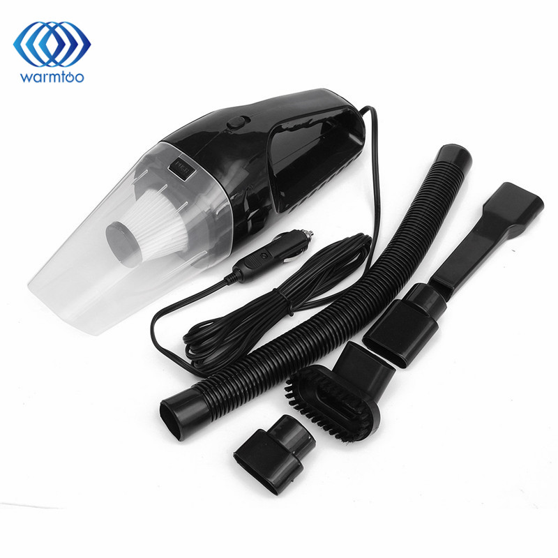 Portable 150W 12V Handheld Cyclonic Car Auto Vacuum Cleaner With Car Lighter Socket Wet Dry Duster Collector