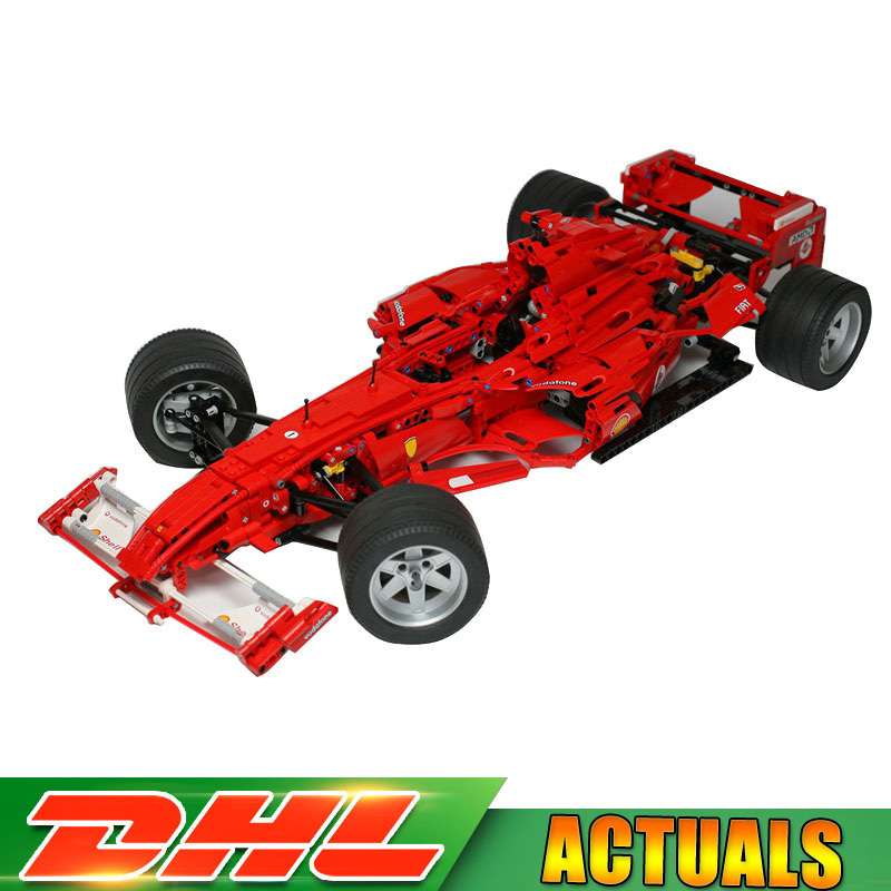 Decool 3335 1242 Pcs Technic Formula F1 Racer Car 1:8 Model Building Blocks Bricks Toys Compatible LegoINGlys Christmas Gifts цена
