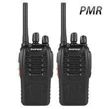 1 пара Baofeng BF-88E PMR рация UHF 446 MHz 0,5 W 16 CH ручной радиопередатчик двусторонней радиосвязи с USB Зарядное устройство для ЕС пользователя