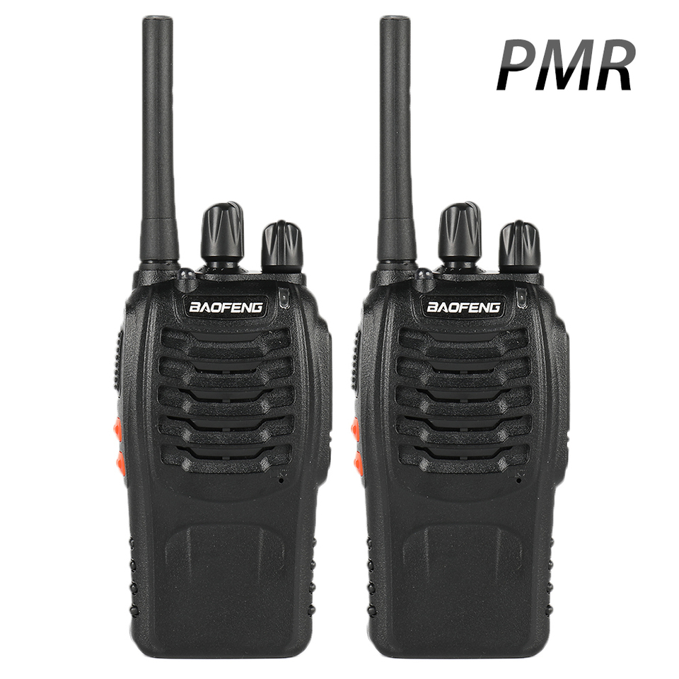 2 Pcs Baofeng Bf 88e Pmr Updated Version Of 888s Walkie Talkie With Usb Charger Uhf 446 Mhz 0 5 W 16 Ch Handheld Ham Walkie Talkie Aliexpress