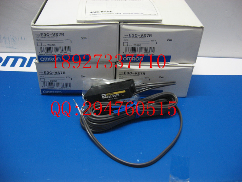 [ZOB] New original OMRON Omron photoelectric switch E3C-VS7R 2M [zob] 100% new original omron omron photoelectric switch e3s vs1e4 e3zm v61 2m substitute