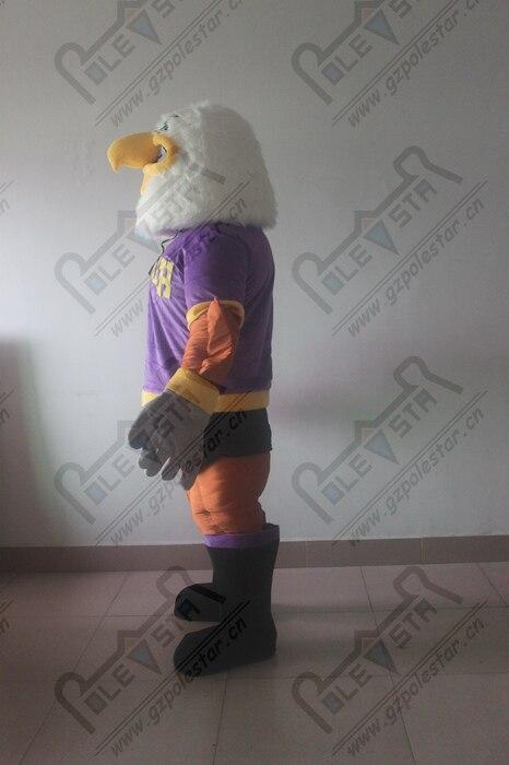Violet muscle mascotte d'aigle costumes power bird costumes de mascotte Vautour condor - 6