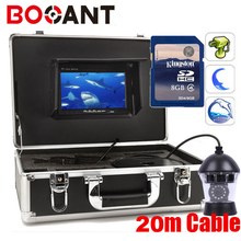 20m Sony color CCD PTZ 360 Rotatable fishing camera 360 rotation Underwater video camera with DVR 360 degree fish video camera