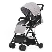 4.8 KG Hoogwaardige Lichtgewicht Reizen Kinderwagen, Draagbare Opvouwbare Paraplu Auto Baby Kinderwagen Kinderwagens Kinderwagen Bebek Arabas