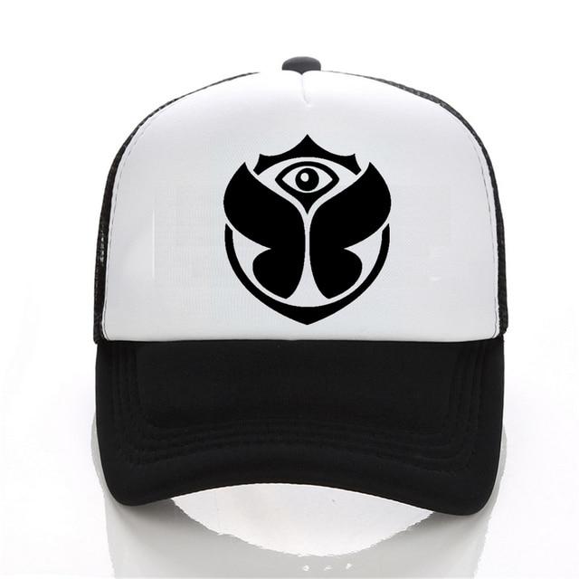Design de moda Verão Casual Hat Snapback Homens Impressão Roupas  TomorrowLand Banda de Rock Hip Hop 8e31b0ecae8
