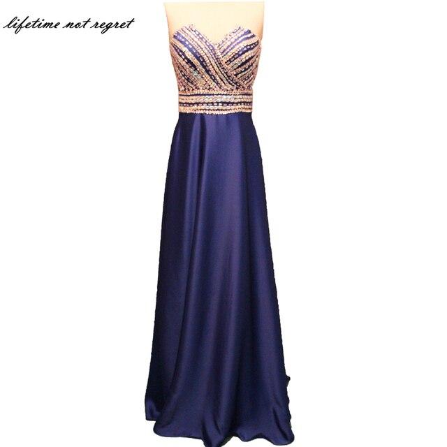 9f93b5c49c0c 2017 Elegant Mermaid Bridesmaid Dresses Luxury Beading Satin Light Purple Bridesmaid  Dress Short Sleeve vestido longo CO119