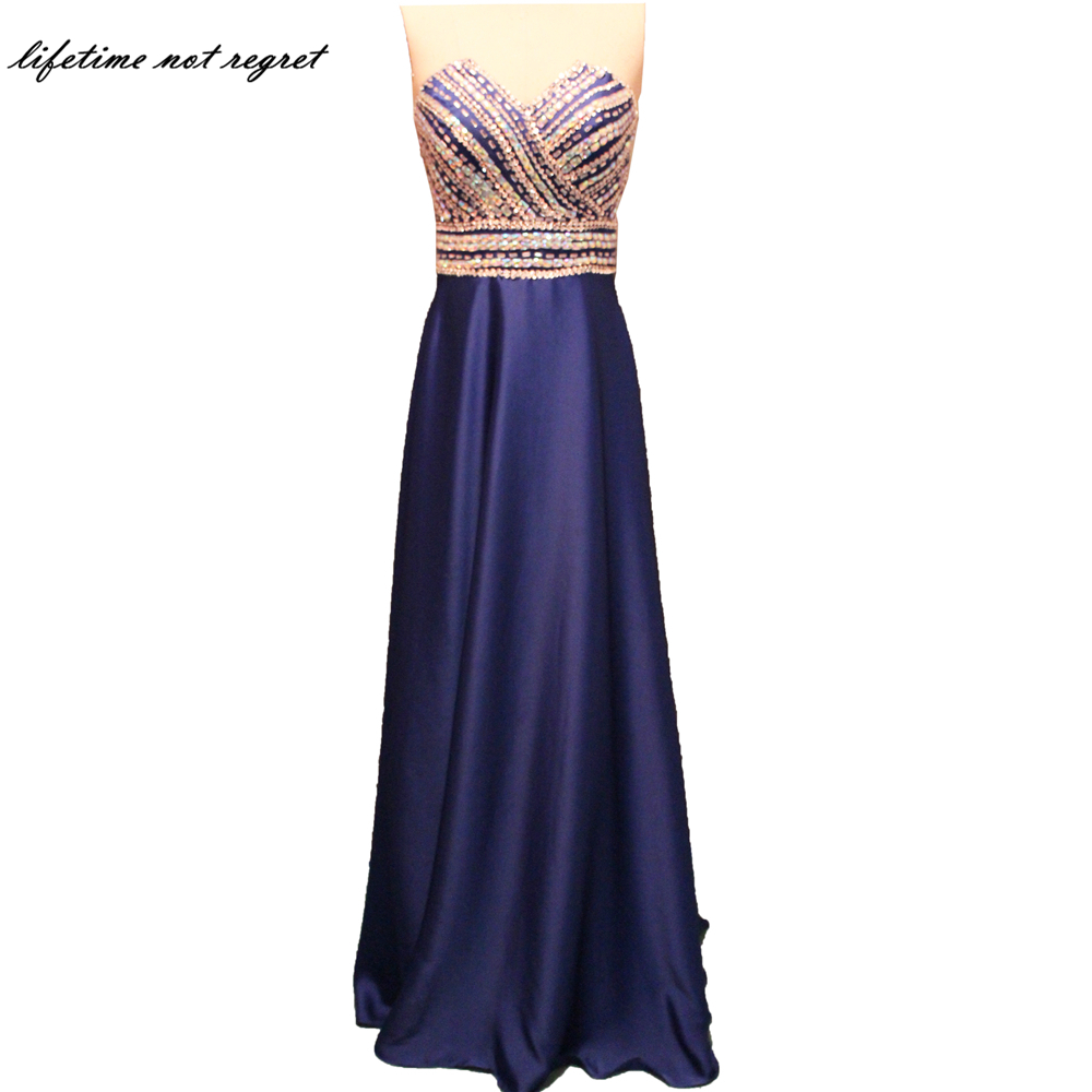 2017 Elegant Mermaid Bridesmaid Dresses Luxury Beading Satin Light Purple Bridesmaid Dress Short Sleeve vestido longo CO119