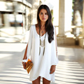 Women dress fashion 2016 casual dress chiffon summer dress summer plus size dress women clothing