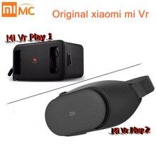Оригинал Сяо Mi VR Ми Box виртуальной реальности 3D очки погружения гарнитура картона с пульта дистанционного управления для 4.7-5.7 inch телефон