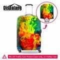 Модная упругие багаж защитные крышки Девушки чемодан чехол от дождя тележка чемодан охватывает ясно камера протектор