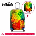 Elástica moda carrinho de bagagem tampas de proteção mala Meninas capa de chuva protetor de bagagem mala trolley cobre claro