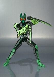 "Image 3 - 100% figurine originale BANDAI Tamashii Nations S.H.Figuarts (SHF) GATAKIRIBA Combo de ""Kamen Rider OOO"""
