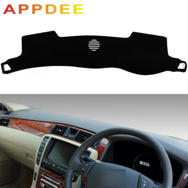 APPDEE dla Toyota crown s180 2003 2004 2005 2006 2007 2008 pokrowce do stylizacji samochodu Dashmat mata na deskę rozdzielczą parasol przeciwsłoneczny pokrywa deski rozdzielczej Capter