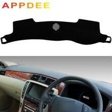 Appdubai لتويوتا كراون s180 2003 2004 2005 2006 2007 2008 سيارة التصميم يغطي داشمات داش حصيرة الشمس الظل لوحة القيادة غطاء كابتر