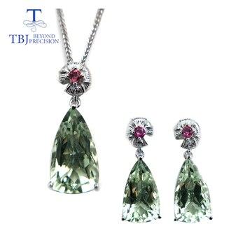 TBJ, ensemble de bijoux pendentif et boucle d