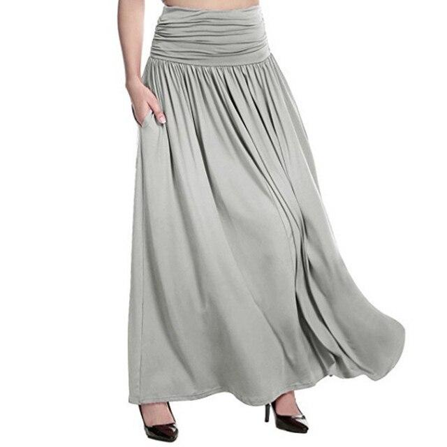41016c59c Mujeres falda de cintura alta, vestido verano lápiz sólido color Falda corta