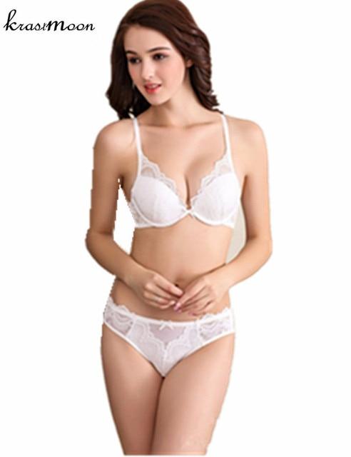 76552ad961 European Underwear Woman Push up Bra Set Sexy Lace Bra Panties Big Large  Size Bras For Women sujetador sous vetement femme BS297