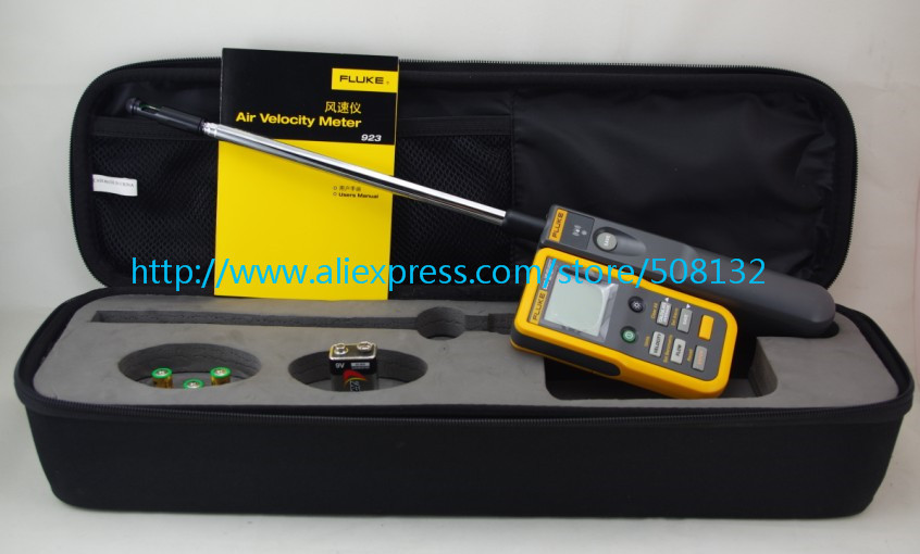 US $599 0 |Fluke 923 Air Velocity Meter Hotwire Anemometer Detachable  Handhel !!NEW!! F923-in Speed Measuring Instruments from Tools on  Aliexpress com