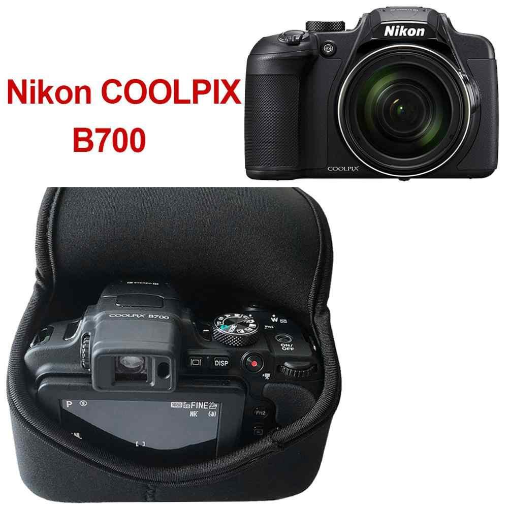 Neoprene Camera Case Bag para FUJIFILM Lente Nikon COOLPIX X-T1 XT1 X-T2 XT2 com XF18-55mm B700 GX9 Panasonic Lumix DMC GX85 GX80