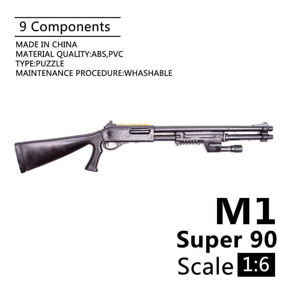 1:6 1//6 Scale Benelli M1 Super 90 Soldier Part Model Guns Fit 12/'/' Action Figure