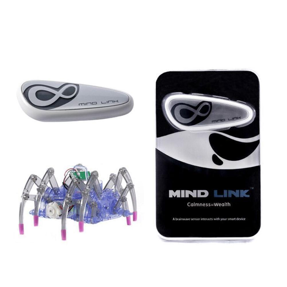 Jouets éducatifs pour enfants cerveau Radio vague idée contrôle bricolage Spider Intelligence Robot jouets cerveau vague Detector1 + jouet araignée