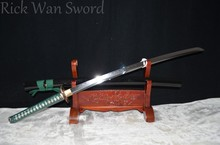Japanese Samurai Sword KATANA 1095 high Carbon Steel clay tempered Full Tang sharp Blade REAL WEAPON