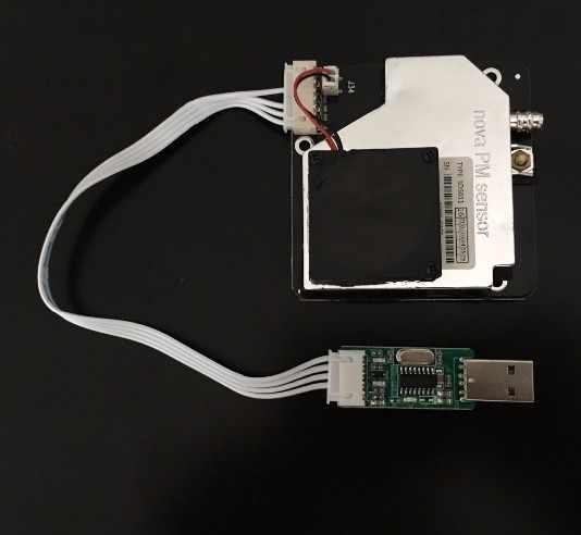 Capteur Nova PM SDS011 laser de haute précision pm2.5 module de capteur de détection de qualité de l'air Super capteurs de poussière, sortie numérique bricolage