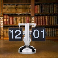 New Arrival Digital Flip Clock Digital Retro Flip Down Page Home Decor Clock Creative Desktop Clock Free Shipping