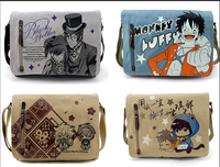 Totoro Kuroshitsuji Black Butler One Piece Messenger Bag School Bag For Students Kids Children Boys Gilrs