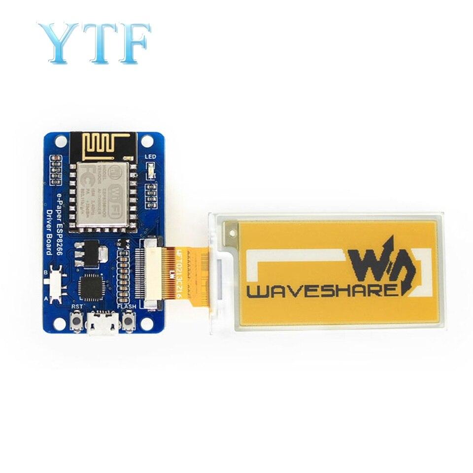 Electronic Paper Ink Screen Electronic Paper Driver Board ESP8266 Module Wireless WiFi Compatible Arduino