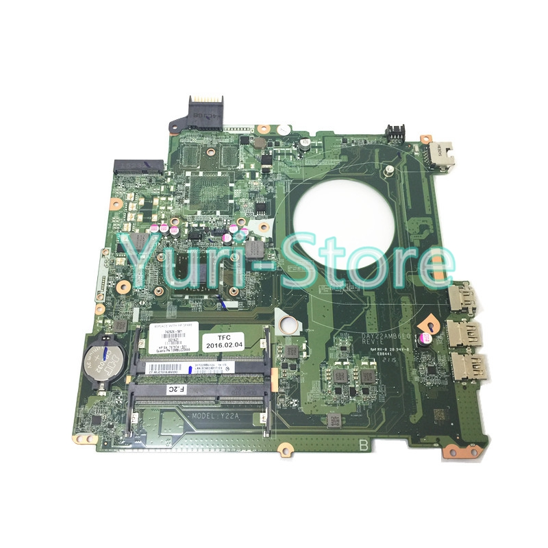 NOKOTION For HP Pavilion 15-P DAY22AMB6E0 Laptop 762526-501 Main Board DDR3 AM8 CPU 762526 501 main board for hp pavilion 15 p day22amb6e0 laptop motherboard ddr3 am8 cpu