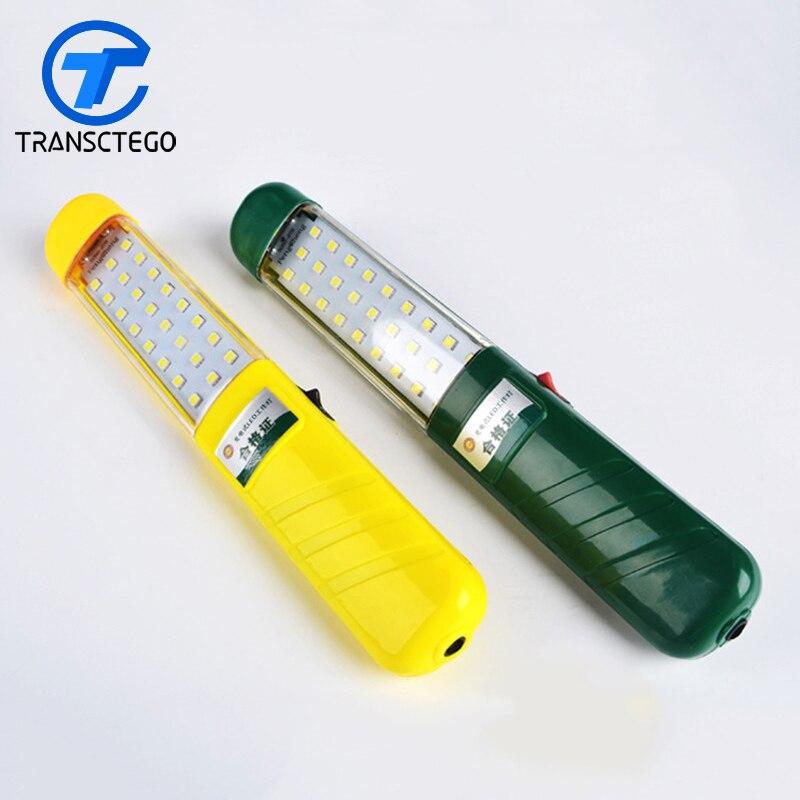 TRANSCTEGO Waterproof Emergency Light Anti Fall Magnet LED Work Lamp For Car Repair Detector lamps