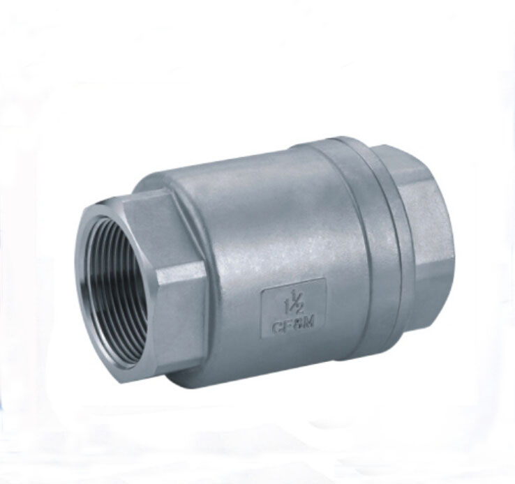 2 inch  2PC Spring vertical lift check valve