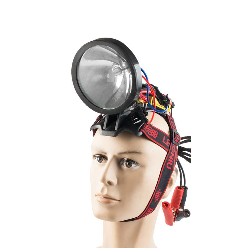 Super Bright 12V Xenon Headlight 55W H3 Xenon Hunting Light  High Power 100W Lighting Headlamp